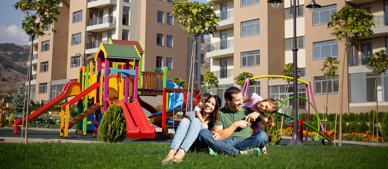 Twida Gardens family homes in Sliven