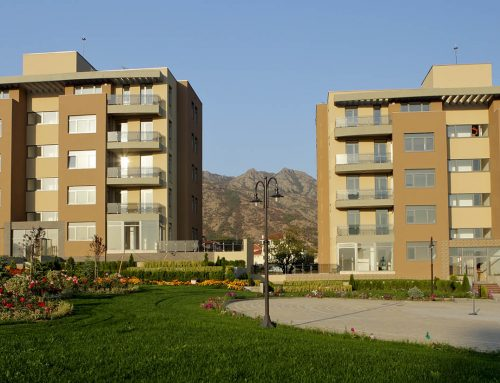 The first phase of construction of residential complex Twida Gardens was completed