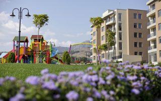 Twida Gardens сады жилого комплекса