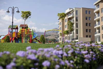 Twida Gardens градини в комплекса